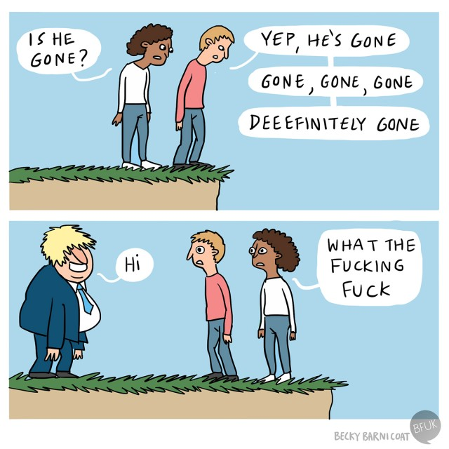 Boris is back
